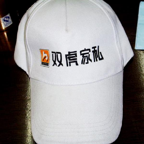 双虎家私 定制广告帽