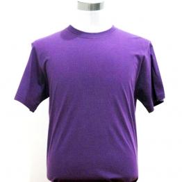 纯棉圆领纯色短袖T恤